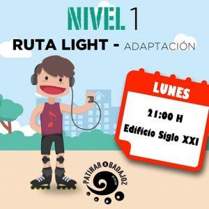 Ruta LIGHT (Nivel 1)