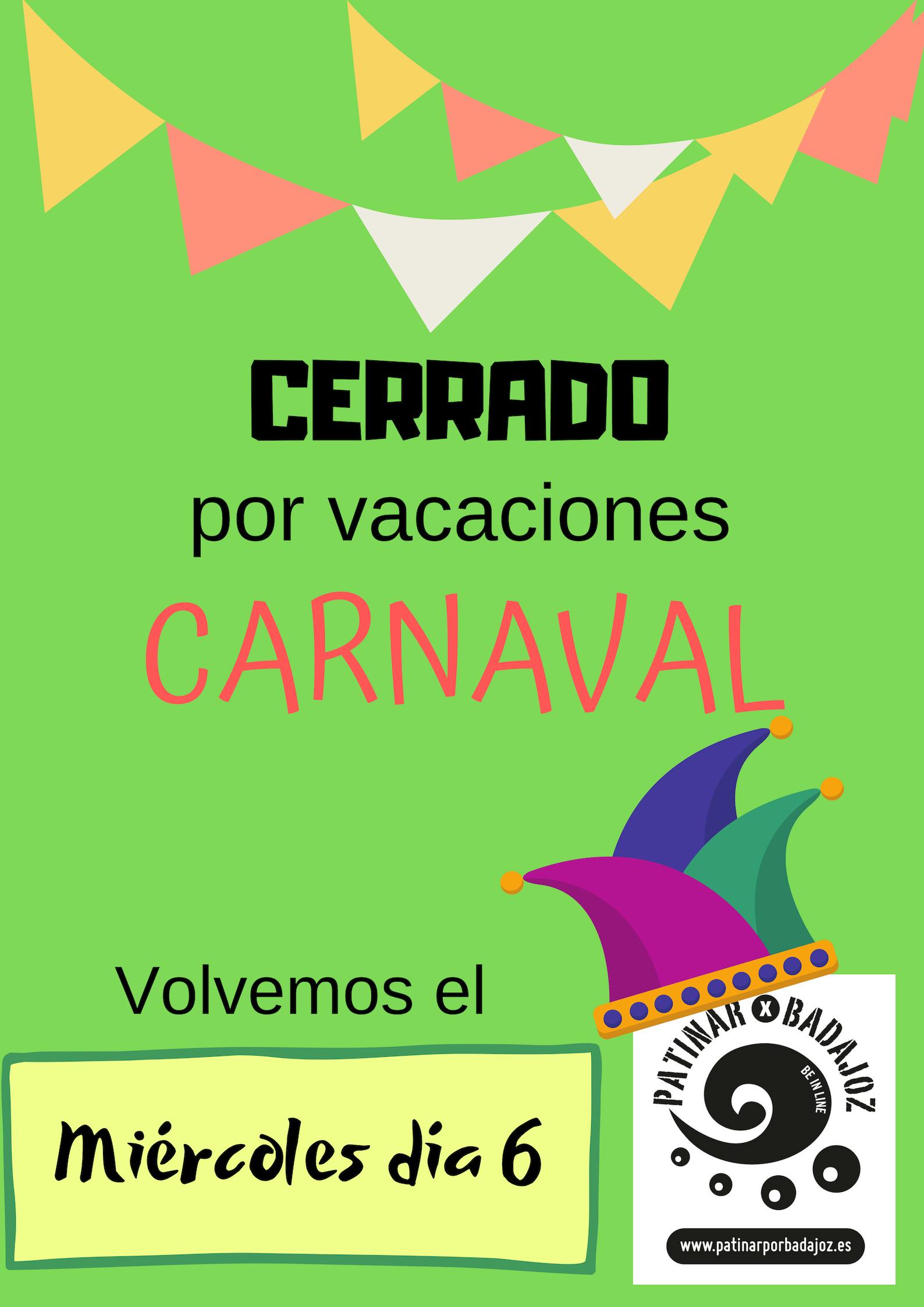 CERRADO carnaval 19